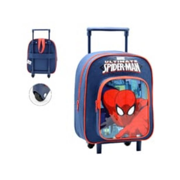 Oferta de Mochila Com Rodas Spider-man por 24€