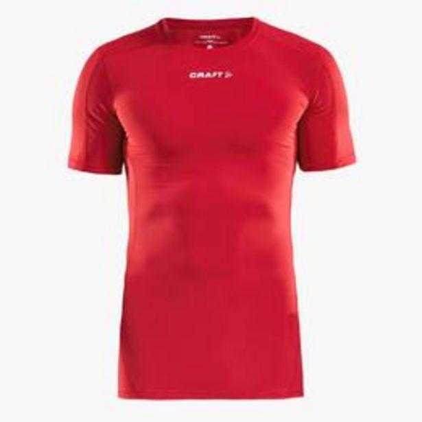 Oferta de T-shirt Compressão Craft Pro Control por 14,99€