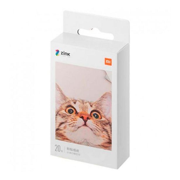 "Oferta de Papel Fotográfico Xiaomi Mi Portable Photo Printer Paper (2x3"", 20 folhas) por 9,9€"