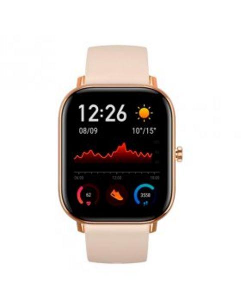 """Oferta de Smartwatch Amazfit GTS 1.65"""" Dourado por 106,9€"""
