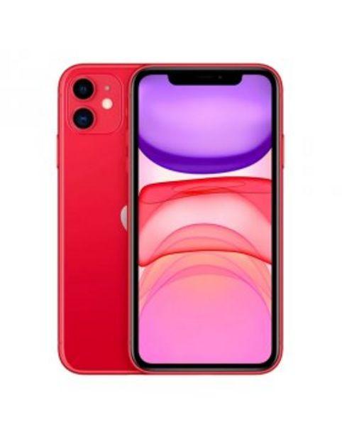 Oferta de Apple iPhone 11 64GB - Vermelho por 669,9€