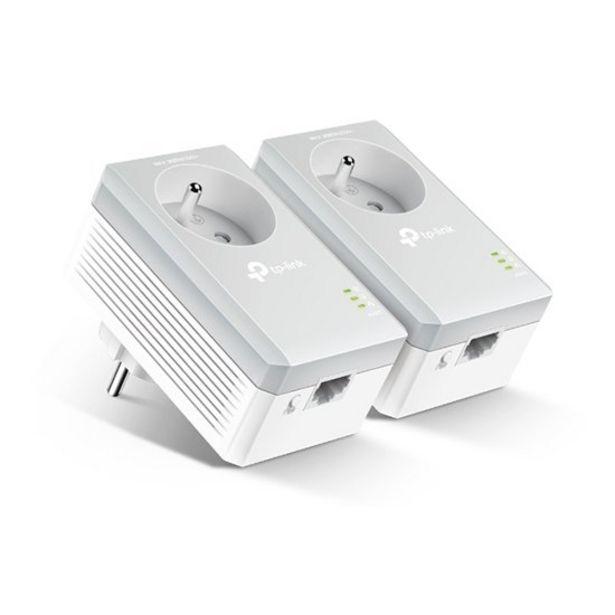 Oferta de PowerLine TP-Link Kit AV500 500Mbps Branco por 39,9€