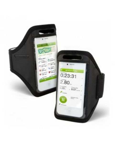 Oferta de Armband Blackmoon iPhone 5/5S/SE - Preto por 7,9€