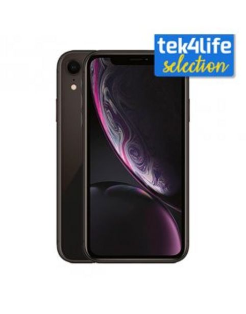 Oferta de Apple iPhone Xr 64GB Preto - Grade A+ por 449,9€