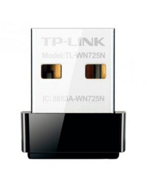 Oferta de TP-Link Wireless N Nano 150Mbps TL-WN725N por 10,9€