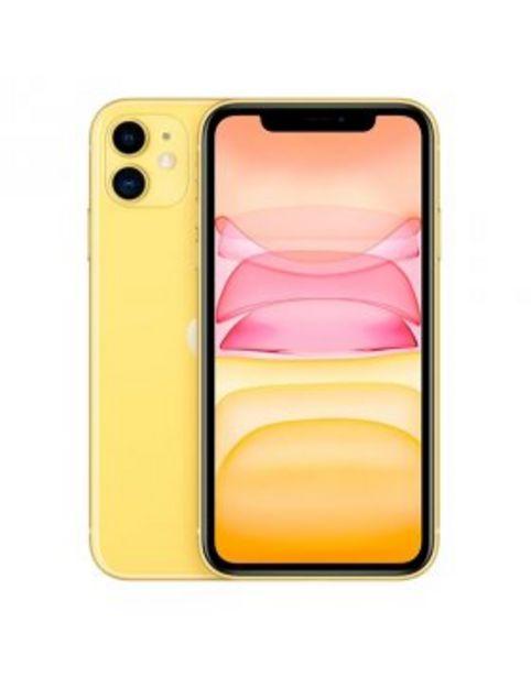 Oferta de Apple iPhone 11 64GB - Amarelo por 669,9€