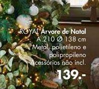 Oferta de ROYAL árvore de natal por 139€