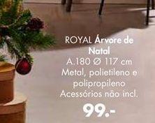 Oferta de ROYAL árvore de natal por 99€