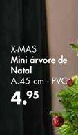 Oferta de X-MAS Mini árvore de natal por 4,95€