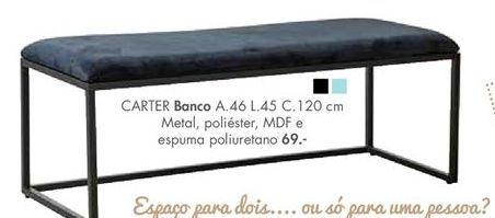 Oferta de CARTER banco por 69€