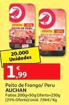 Oferta de Presunto de peru Auchan por 1,99€
