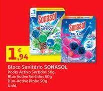 Oferta de Pastilhas para wc Sonasol por 1,94€