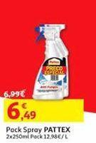 Oferta de Pack Spray Pattex por 6,49€