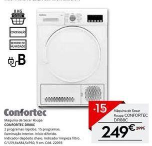 Oferta de Secadora Confortec por 249€
