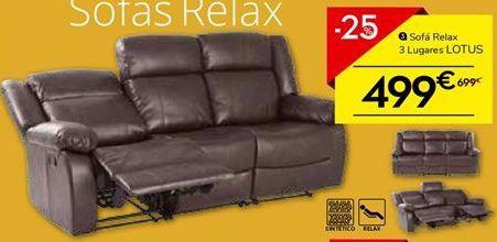 Oferta de Sofá relax por 499€