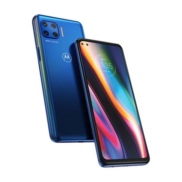 "Oferta de Smartphone MOTOROLA Moto G 5G Plus 6.7"" 6GB/128GB Dual SIM 5G USB Type-C Azul Android 10.0 por 329,99€"