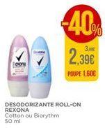 Oferta de Desodorante Rexona por 2,39€