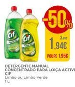 Oferta de Detergente lavalouça cif por 1,94€