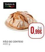 Oferta de Pão por 0,99€