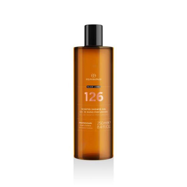 Oferta de Gel de banho perfumado Black Label 126 por 5,95€