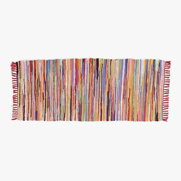 Oferta de Tapete Barra Mix Multicolor 70x170 cm por 19,99€