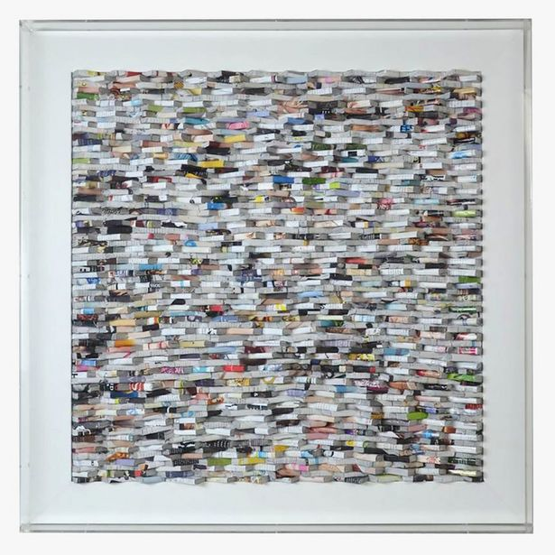 Oferta de Quadro Jornais 90x90 cm por 296€
