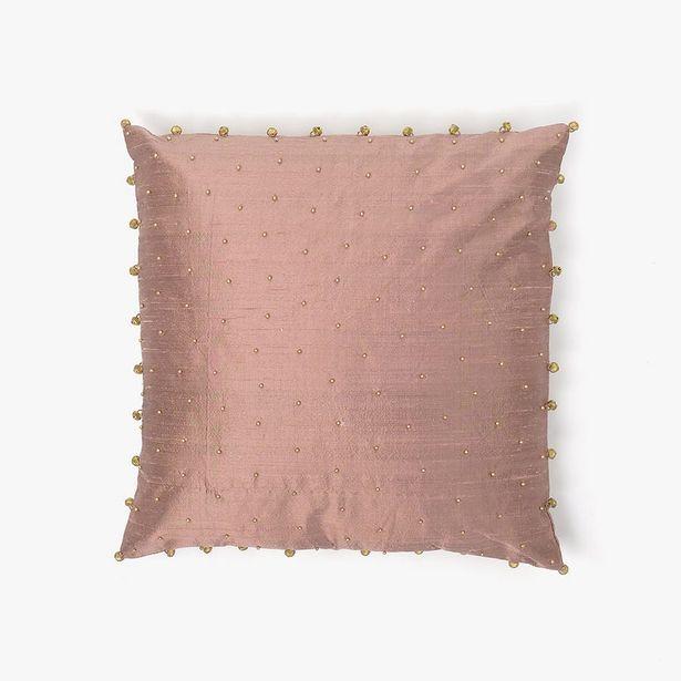 Oferta de Capa de Almofada Guizos Rosa 40x40 cm por 17,99€