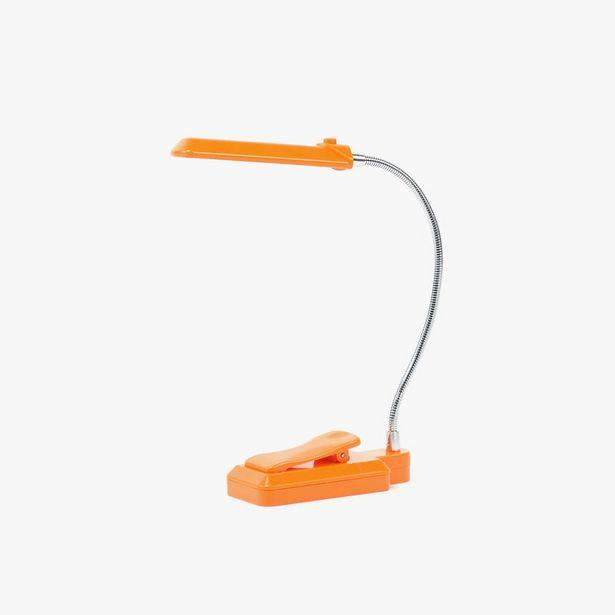 Oferta de Luz de Leitura 6 LED com Clip Laranja por 7,99€