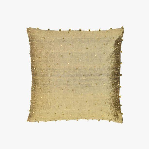 Oferta de Capa de Almofada com guizo 40x40 cm por 17,99€
