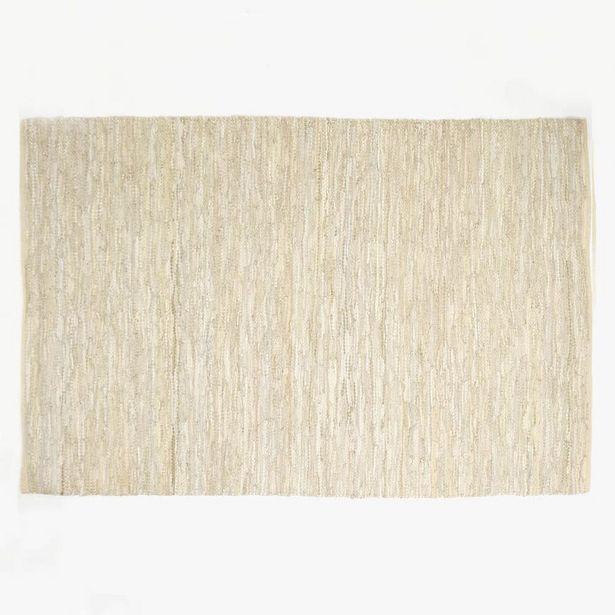 Oferta de Tapete Tear Pele Bege 160x240 cm por 89,95€