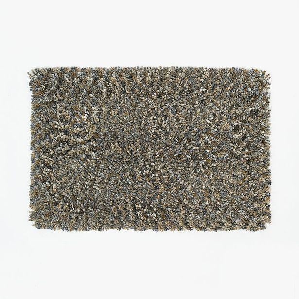 Oferta de Tapete de Banho Anémona Castanho 50x80 cm por 19,95€
