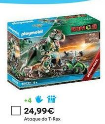 Oferta de Dinossauros Playmobil por 24,99€