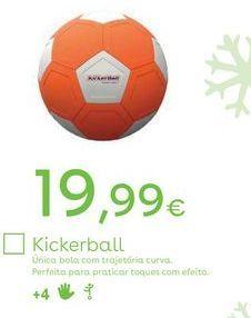 Oferta de Bola de futebol por 19,99€