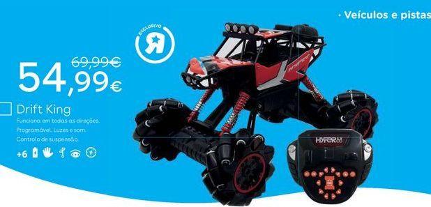 Oferta de Veículos de brinquedo por 54,99€