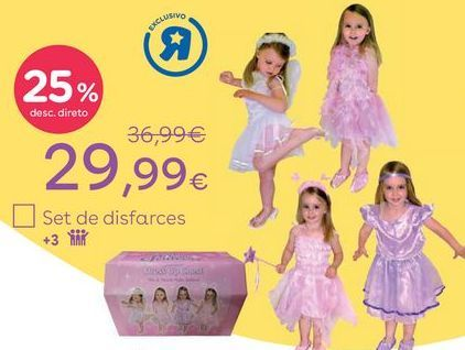 Oferta de Disfarces para menina por 29,99€