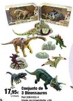 Oferta de Dinossauros por 17,95€