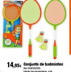 Oferta de Badminton por 14,95€