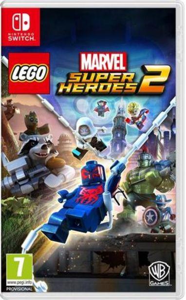 Oferta de Jogo Switch Lego Marvel Super Heroes 2 por 39,9€