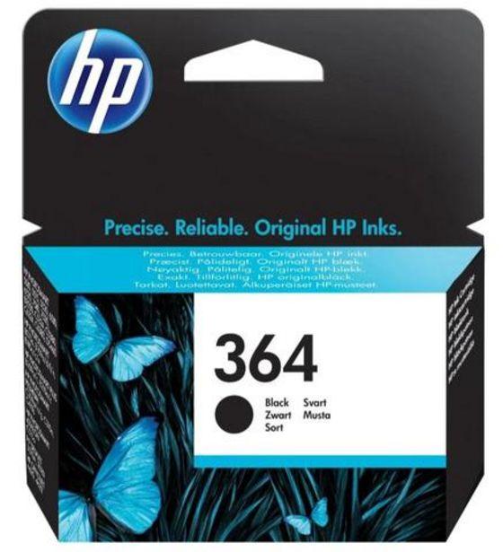 Oferta de Tinteiro HP 364 Preto (CB316EE) por 16,99€