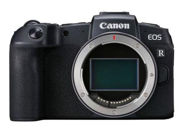 Oferta de Máquina Fotográfica Canon EOS RP Corpo + Adaptador EF-EOS R - CSC 26 MP   Full frame por 1099€