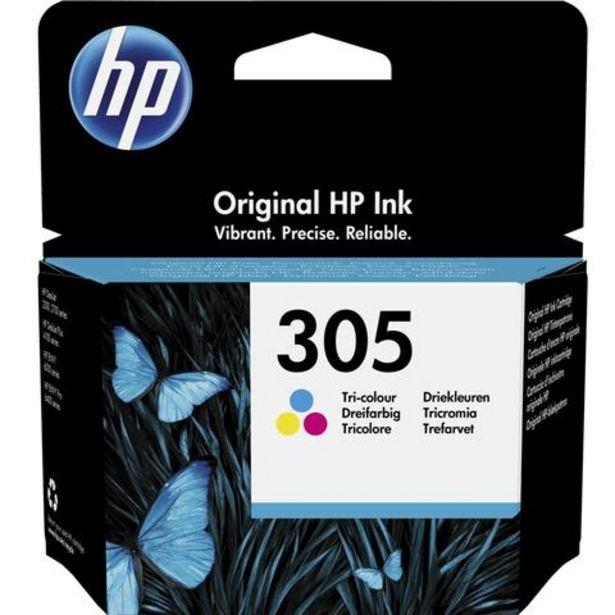 Oferta de Tinteiro HP 305 Tricolor (3YM60AE) por 14,99€