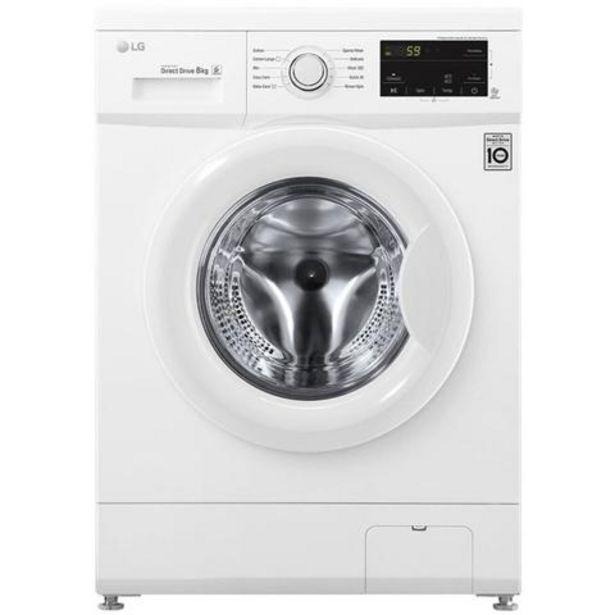 Oferta de Máquina Lavar Roupa LG F4J3TN3W 8Kg 1400RPM Classe A+++ por 399€