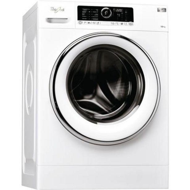 Oferta de Máquina Lavar Roupa Whirlpool FSCR 10425 10KG 1400RPM Classe A+++ por 585€