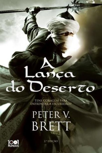 Oferta de Livro de Peter V. Brett-A Lança Do Deserto (Saga A Noite Dos Demónios-Livro 2) por 17,91€