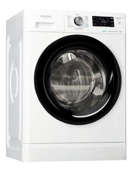 Oferta de Máquina Lavar Roupa Whirlpool FFB 8248 BV PT 8KG 1200RPM Classe A+++ por 429€