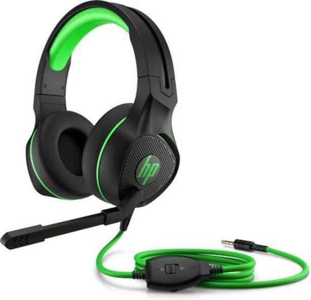 Oferta de Auscultadores HP Gaming Pavilion 400 Verde por 39,99€