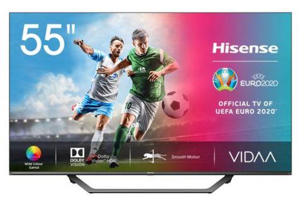 """Oferta de Smart TV Hisense 55A7520 LED 55"""" Ultra HD 4K por 399€"""