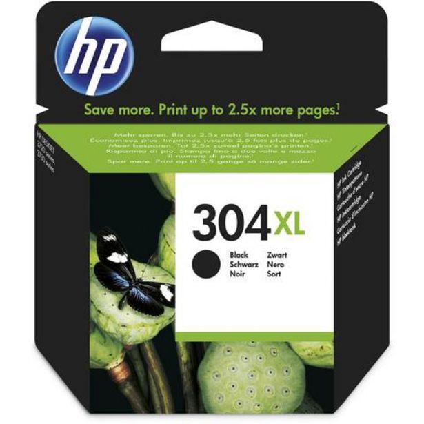 Oferta de Tinteiro HP 304XL Preto (N9K08AE) por 33,99€