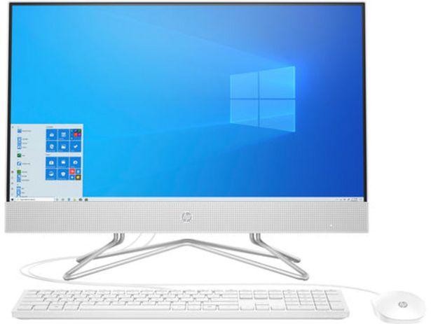 """Oferta de All-in-One HP 24-DF0005NP Core i3 24"""" 8GB RAM 512GB SSD por 599€"""