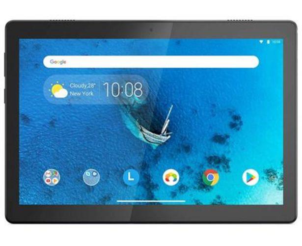 Oferta de Tablet Lenovo TAB M10 HD TB-X505F Preto - 10.1'' 32GB 2GB RAM Quad-Core por 149€